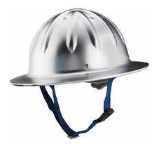 Forester Full Brim Aluminum Hard Hat