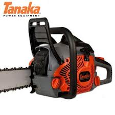 "Tanaka TCS 51EA 50cc Rear Handle Chainsaw with 20"" Bar"